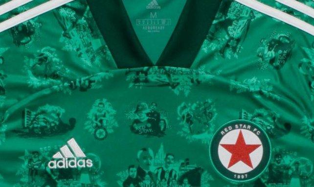 Les nouveaux maillots du Red Star FC pour 2020/2021