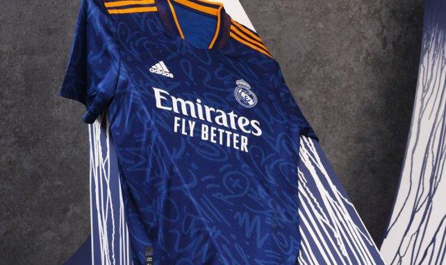 Le Real Madrid dévoile son nouveau maillot extérieur avec adidas !