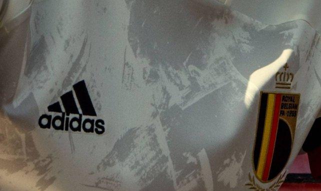 Le nouveau maillot extérieur de la Belgique pour l'Euro 2021