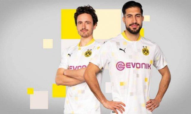 Le nouveau maillot extérieur du Borussia Dortmund pour 2020/2021