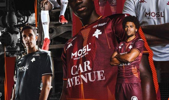 Le FC Metz dévoile ses nouveaux maillots pour la saison 2021/2022