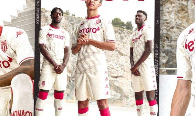 Kappa révèle le nouveau maillot third de l'AS Monaco