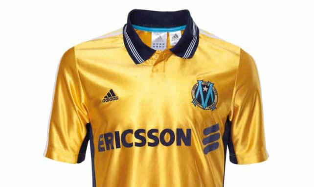 Le maillot extérieur de l'Olympique de Marseille 2020/21 dévoilé