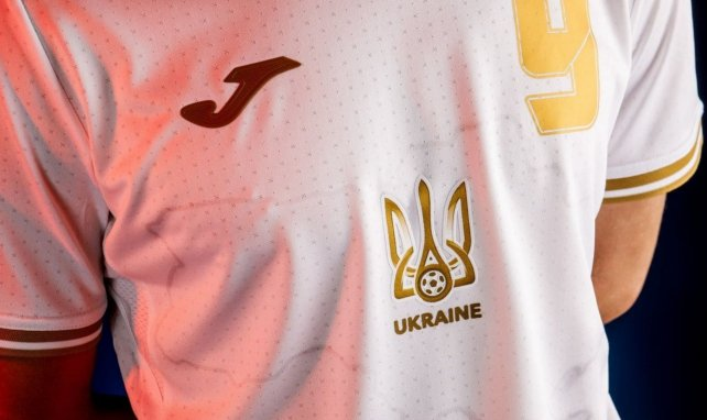 Le maillot que devait porter l'Ukraine lors de l'Euro fait polémique