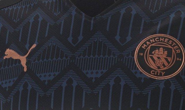 Manchester City dévoile son maillot extérieur pour 2020/2021