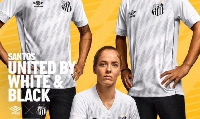Umbro présente les nouveaux maillots de Santos