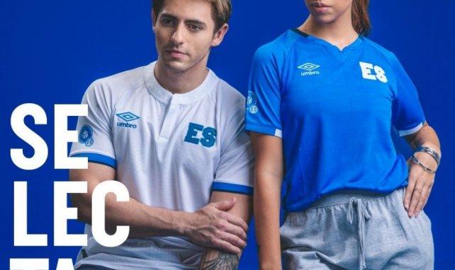 Umbro lance les nouveaux maillots du Salvador !