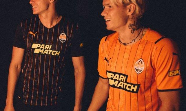 Puma révèle les nouveaux maillots du Shakhtar Donetsk !