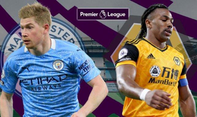 Les compositions probables de Manchester City-Wolverhampton