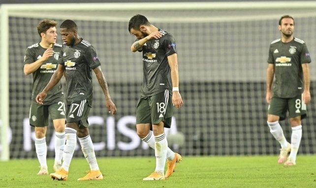Bruno Fernandes sous le maillot de Manchester United