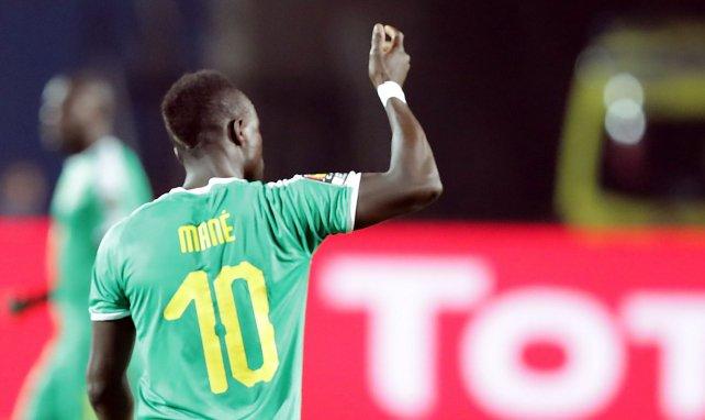 Sadio Mané sous les couleurs du Sénégal