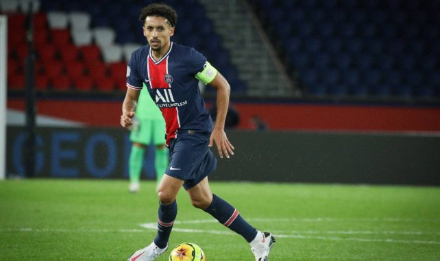PSG : Marquinhos veut voir Neymar et Mbappé évoluer ensemble