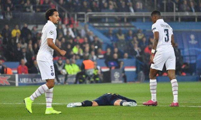 Marquinhos et Kimpembe face au Real Madrid en Ligue des Champions
