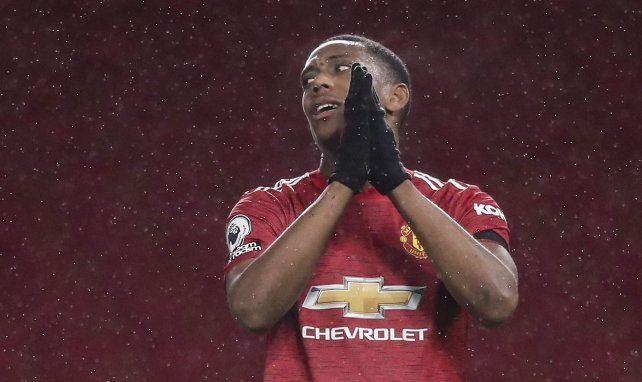 Manchester United : une pluie de critiques s'abat sur Anthony Martial