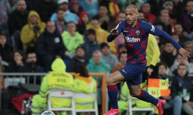 FC Barcelone : West Ham pourrait s'offrir Martin Braithwaite