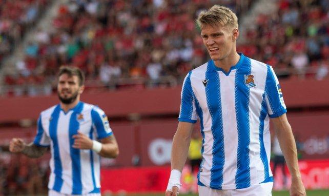 Martin Odegaard de retour au Real Madrid