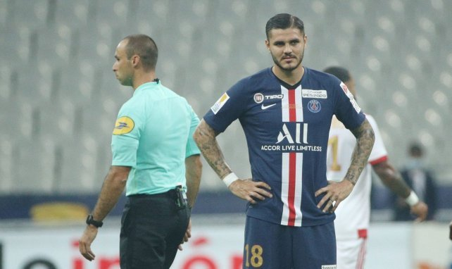 Mauro Icardi au PSG