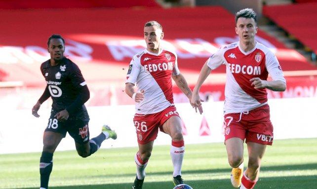 OL-AS Monaco : la frustration de Ruben Aguilar