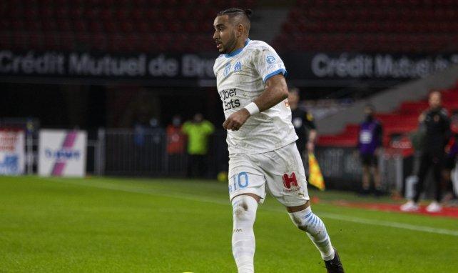 Dimitri Payet lors d'un match entre Rennes et l'OM