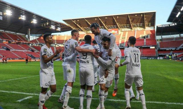 Ligue 1 : Lille s'offre le Stade Rennais et revient à hauteur du PSG