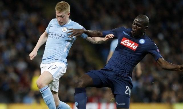 Kalidou Koulibaly pourrait rejoindre Kevin De Bruyne cet été à Manchester City