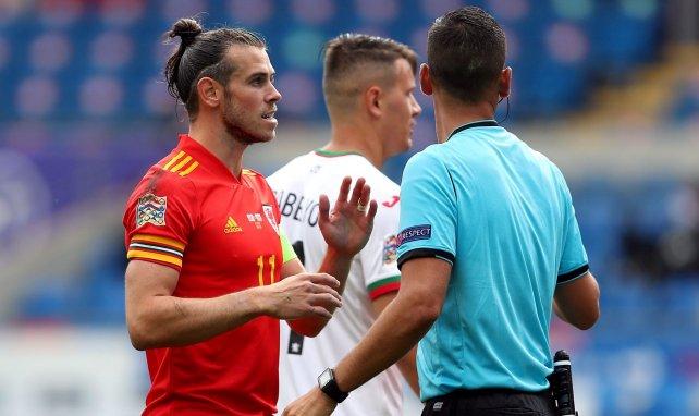 Gareth Bale avec le Pays de Galles