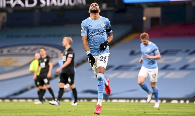 PL : Manchester City et Riyad Mahrez ne font qu'une bouchée de Burnley