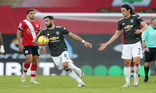 Premier League : Edinson Cavani et Manchester United renversent Southampton !