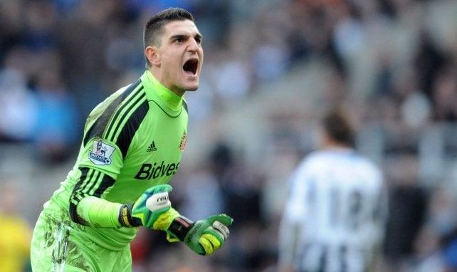Vito Mannone évoluait à Sunderland en 2014