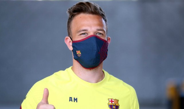 Le milieu du FC Barcelone Arthur Melo