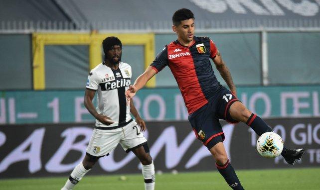 Cristian Romero sous les couleurs du Genoa