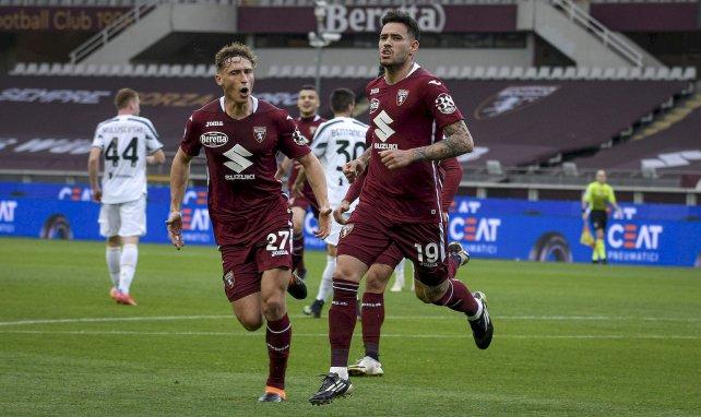 Antonio Sanabria buteur avec le Torino contre la Juventus