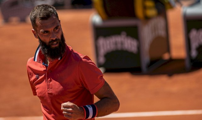 Benoît Paire à Rolland-Garros