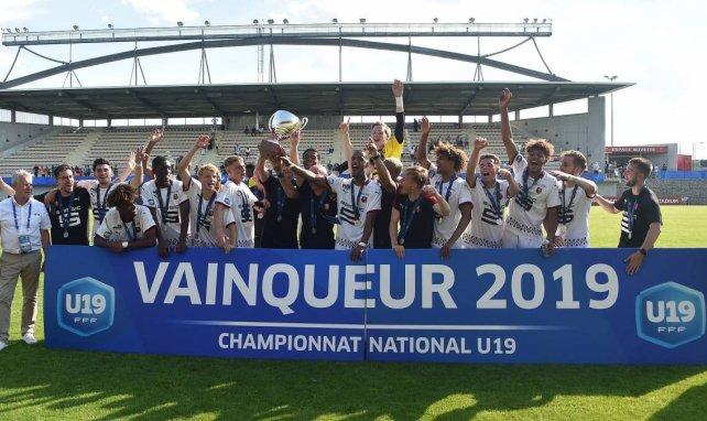 Rennes champion de France U19 2019