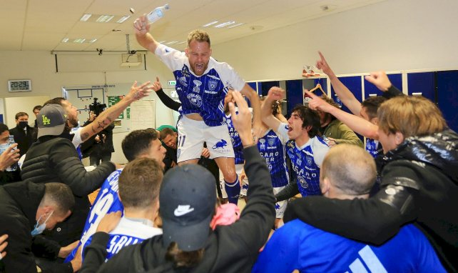 Bastia sacré champion de National