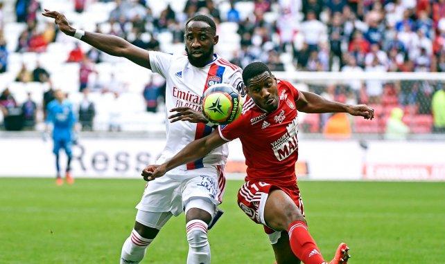 Le groupe de l'OL contre l'ESTAC avec le retour de Moussa Dembélé