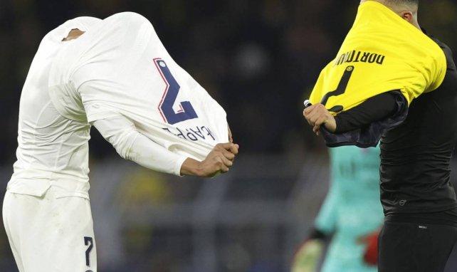 Thomas Meunier compare Kylian Mbappé et Jadon Sancho