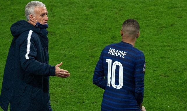 Kylian Mbappé lancé par Didier Deschamps