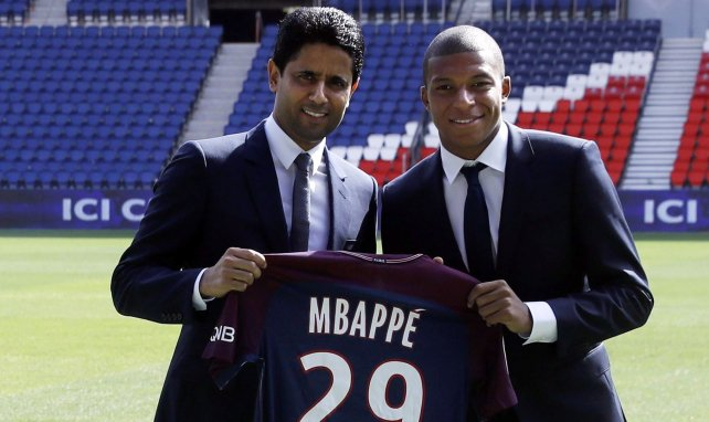 PSG : la tension serait montée d'un cran entre Nasser Al-Khelaïfi et Kylian Mbappé