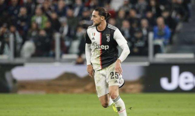 Adrien Rabiot sous le maillot de la Juventus en championnat
