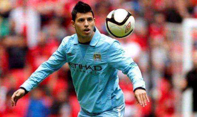 Agüero se régale à Manchester City