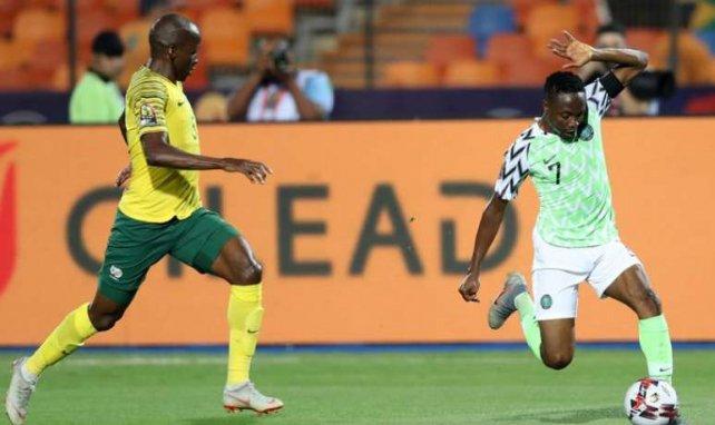 Ahmed Musa a fait un grand match lors de Nigéria-Afrique du Sud