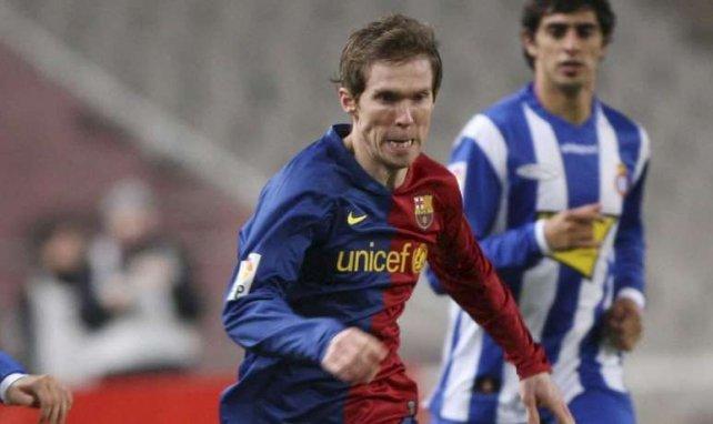 Aleksandr Hleb, ici lors de son passage au Barça, pousse un terrible coup de gueule