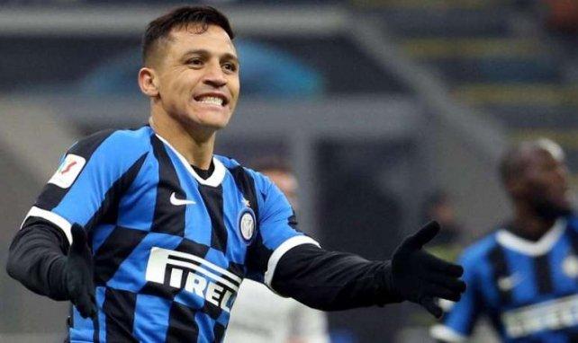 Alexis Sanchez sous le maillot de l'Inter