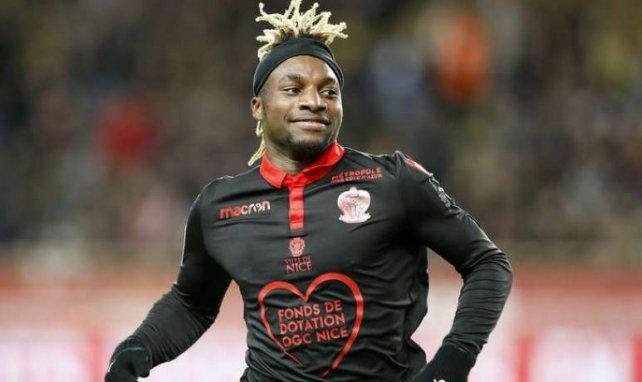 Allan Saint-Maximin, sous les couleurs niçoises, devrait rejoindre l'AC Milan