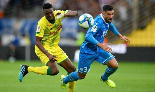 Alvaro Gonzalez, ici face à Nantes, n'a pas manqué ses premiers pas en L1