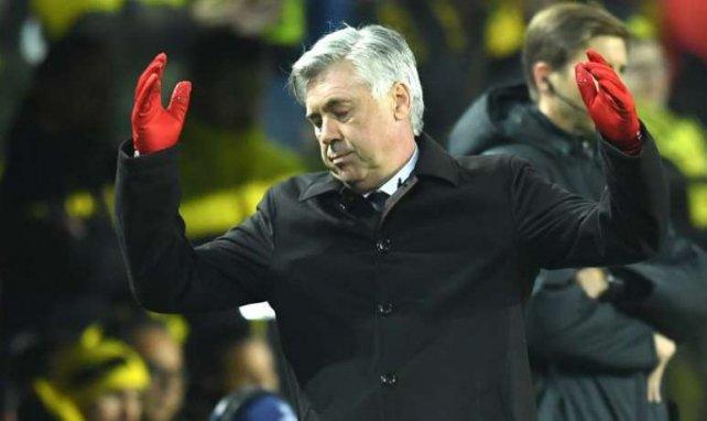 Ancelotti a connu sa première défaite en Bundesliga le week-end dernier face à Dortmund