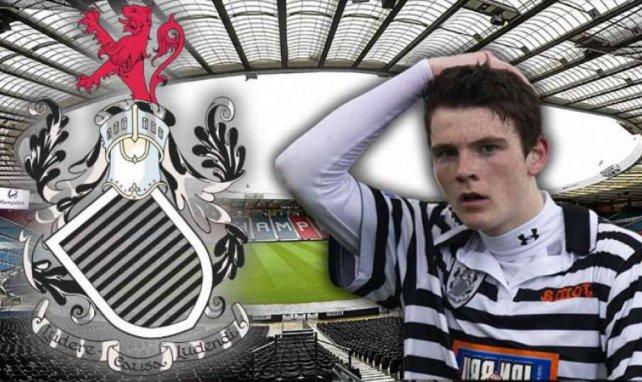 Andrew Robertson sous les couleurs du Queen's Park FC