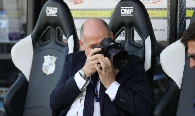 Antero Henrique lors de la rencontre entre Amiens et le Paris SG en Ligue 1