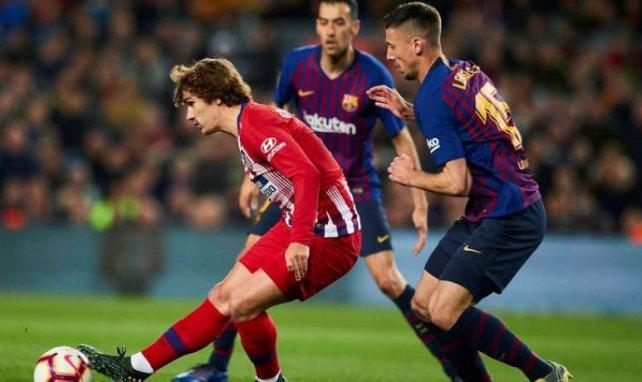 Antoine Griezmann face au FC Barcelone le 6 avril dernier